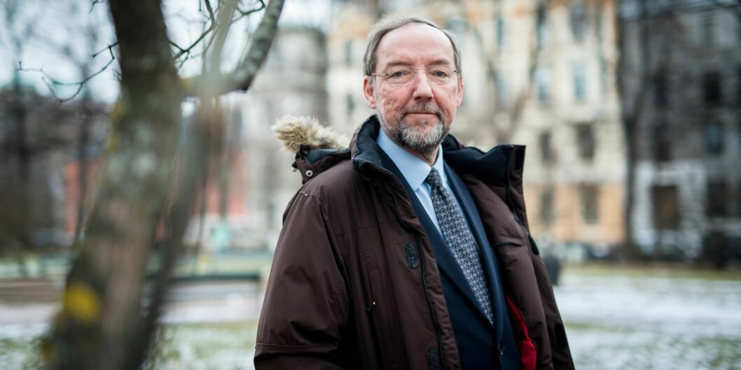 Områdedirektør for samfunn og helse i Forskningsrådet, Jesper W. Simonsen. Foto: Skjalg Bøhmer Vold