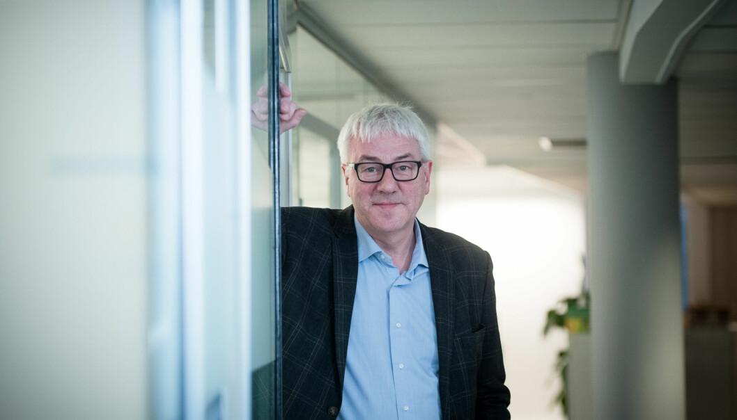 Tore Hansen er direktør for organisasjon og virksomhetsstyring ved Høgskolen i Oslo og Akershus. Foto: Skjalg Bøhmer Vold