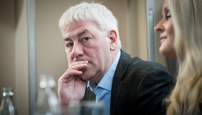 Direktør Tore Hansen, OsloMet. Foto: Skjalg Bøhmer Vold