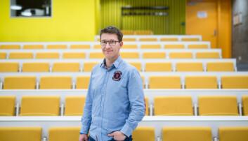Informasjonssjef på Høgskolen i Østfold, Tore Petter Engen. Foto: Skjalg Bøhmer Vold