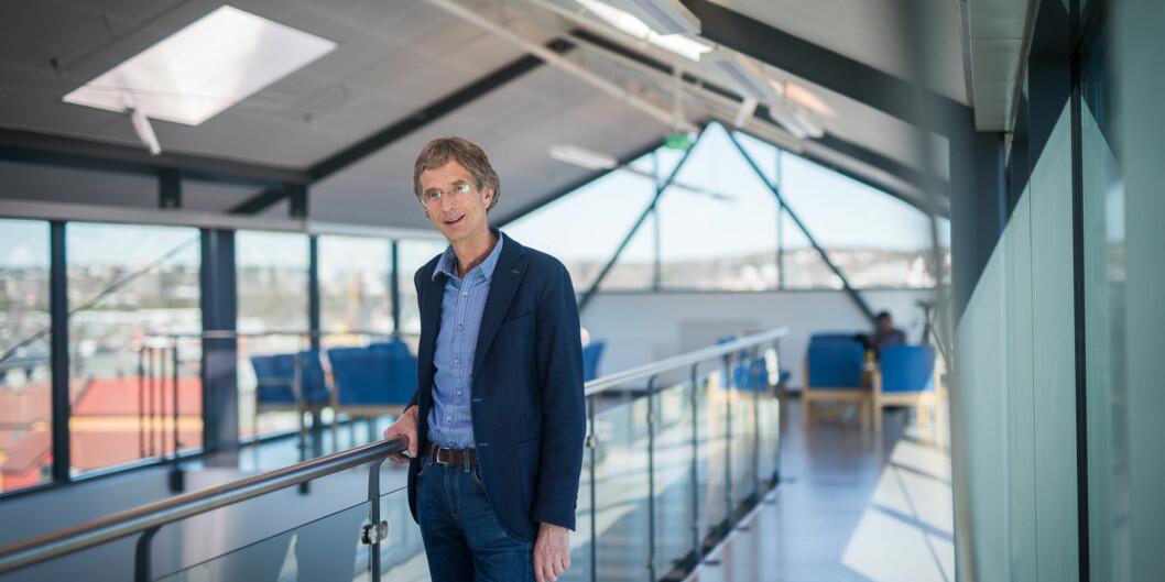 Rektor Hans Blom får ikke beholde tre av åtte eiendomsfag som er utviklet i samarbeid med lokaltnæringsliv. Foto: Skjalg Bøhmer Vold