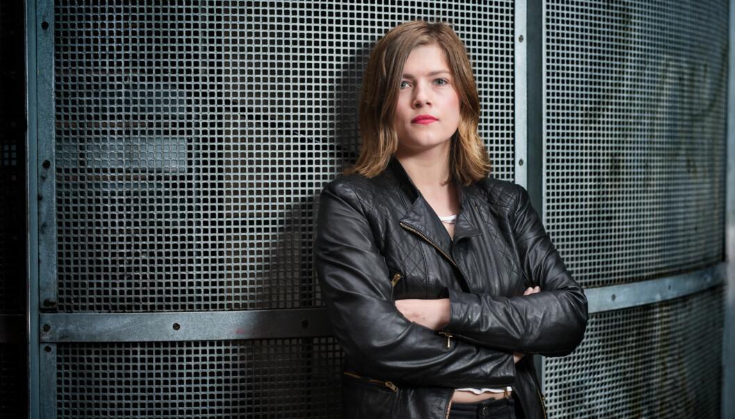 Leiar i Studentparlamentet ved Høgskolen i Oslo og Akershus, Sunniva Braaten, etterlysar fleire argumentar for å ikkje flytte til Lillestrøm. Foto: Skjalg Bøhmer Vold