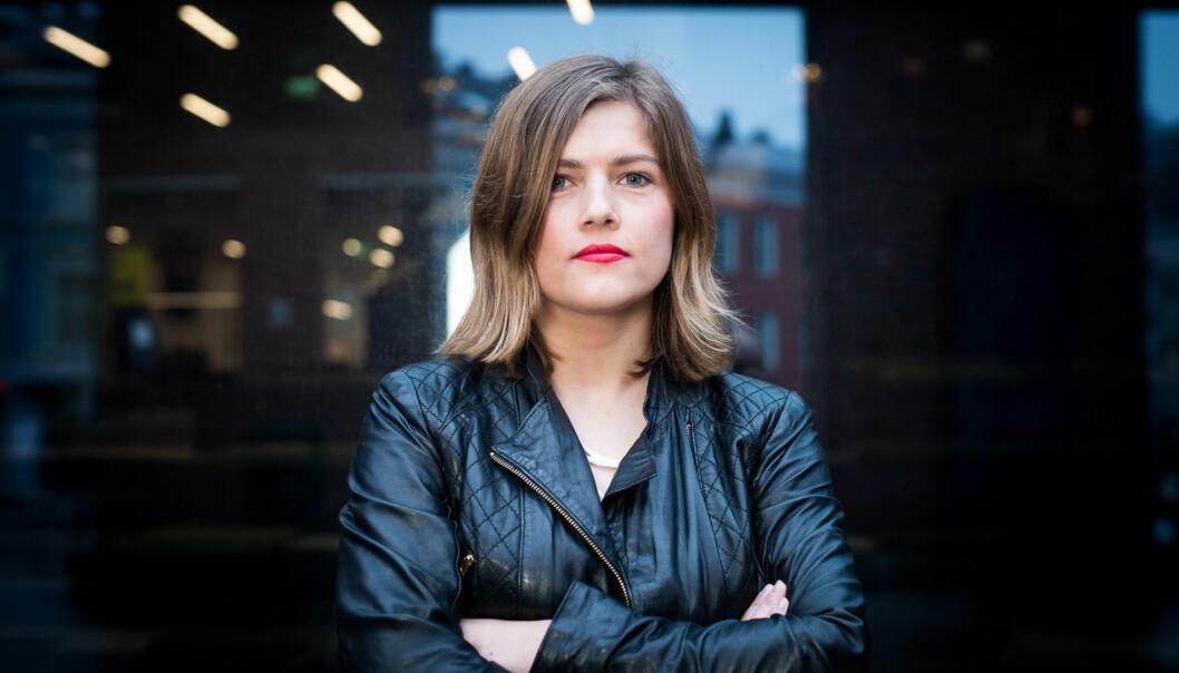 Studentleder Sunniva Myrene Braaten vil ha juridisk kompetanse hos nytt studentombud ved Høgskolen i Oslo ogAkershus. Foto: Skjalg Bøhmer Vold