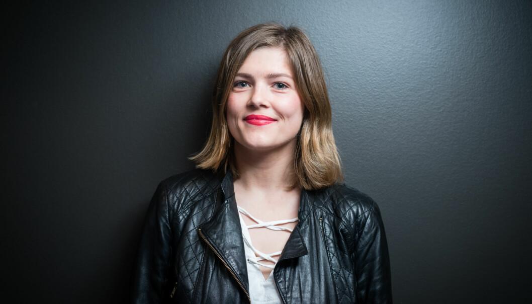 Sunniva Myrene Braaten stiller til leder av Studentparlamentet på Høgskolen i Oslo ogAkershus. Foto: Skjalg Bøhmer Vold
