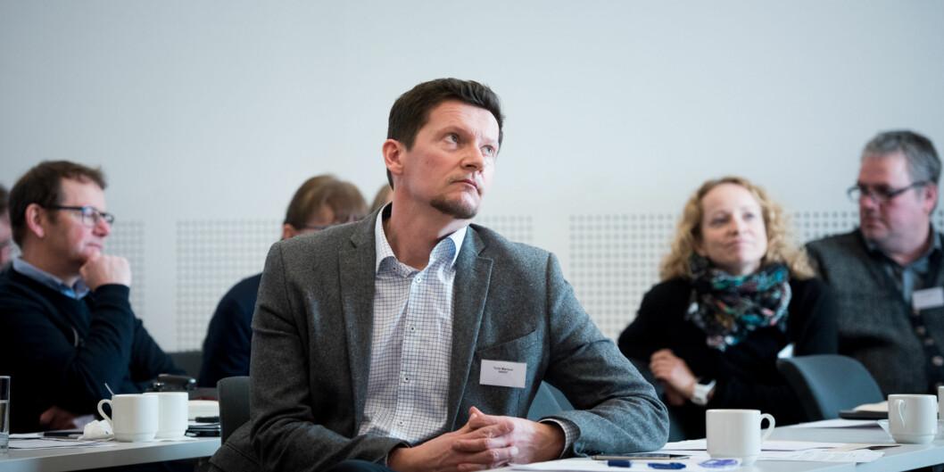 Direktør i Nasjonalt organ for kvalitet i utdanningen (NOKUT), Terje Mørland. Foto: Skjalg Bøhmer Vold