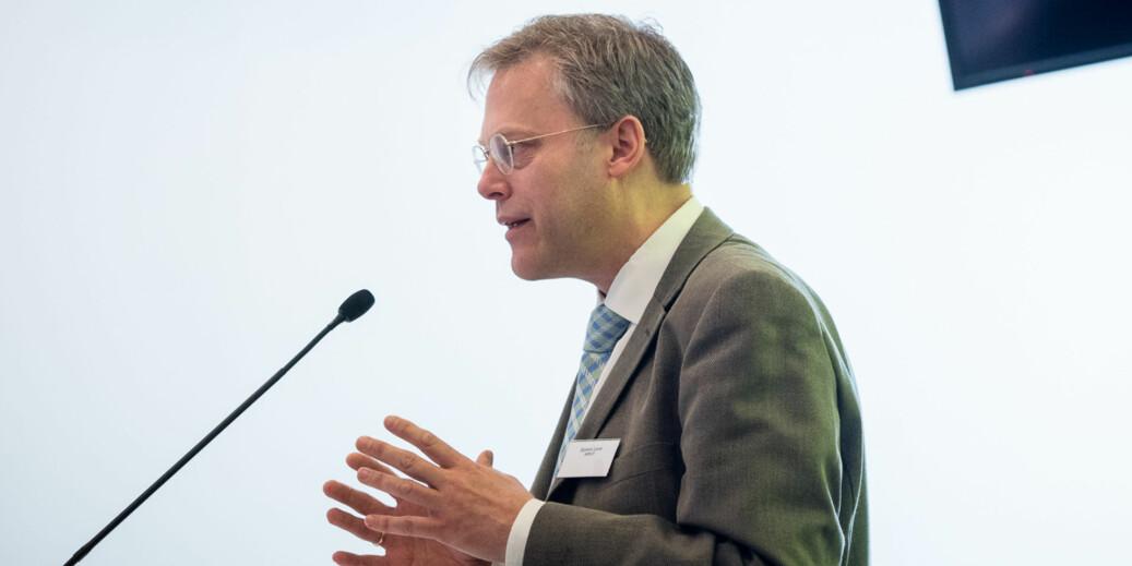 Tilsynsdirektør Øystein Lund i NOKUT mener det er krevende for institusjonene å få på plass godt nok systematisk kvalitetsarbeid. Ordinære tilsyn kan begynne fra 2020. Foto: Skjalg Bøhmer Vold