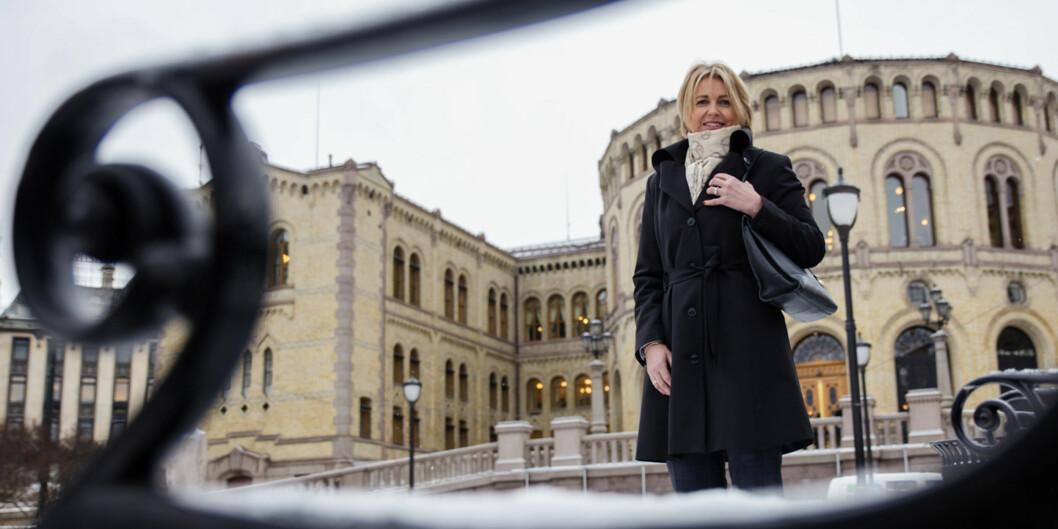 Kristin Vinje (H) har ikke gitt opp kampen om sikker plass på lista til oslo Høyre foran høstensstortingsvalg. Foto: Henriette Dæhli