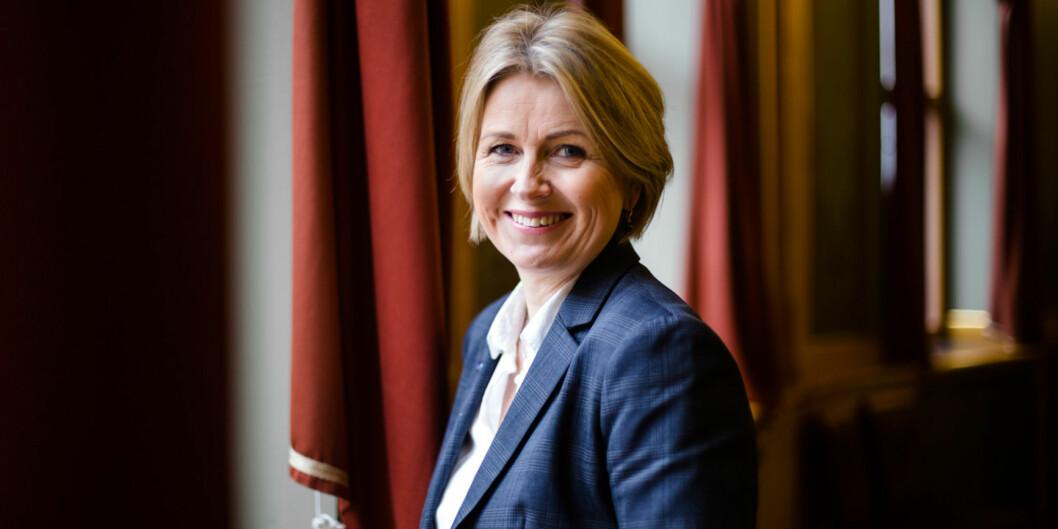 Kristin Vinje, visedekan på UiO og tidligere stortingspolitiker for Høyre har søkt jobben som direktør for Utdanningsetaten. Foto: Henriette Dæhli