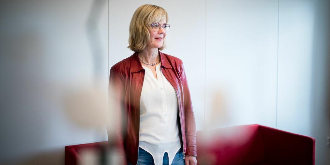 Dekan på fakultet for Samfunnsvitenskap ved OsloMet, Ann-Helén Bay. Foto: Skjalg Bøhmer Vold