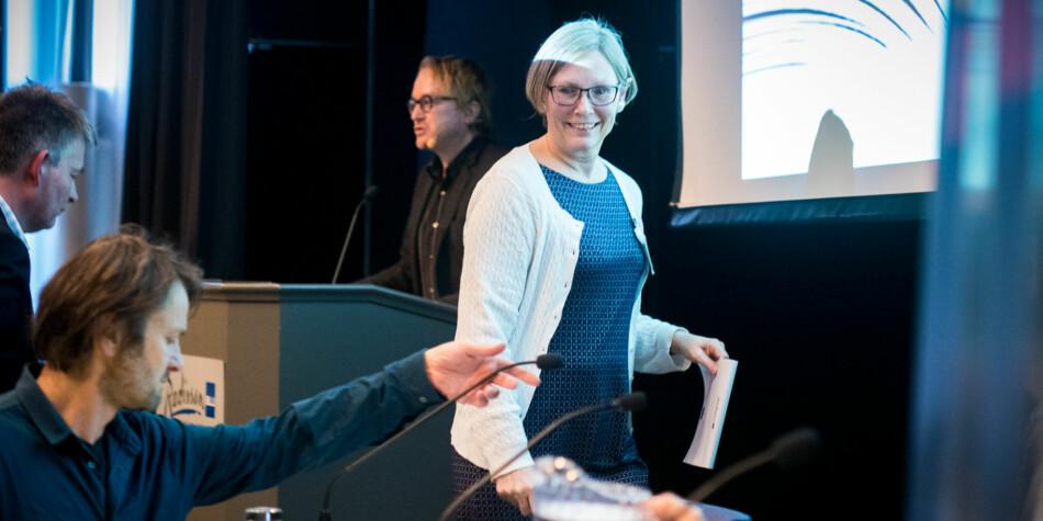 Elaine Munthe, dekan ved Fakultet for utdanningsvitskap og humaniora ved UiS, skal leie Kunnskapssenteret for utdanning. Foto: Skjalg Bøhmer Vold