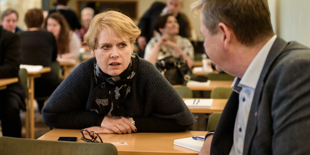 """Marianne Aasen (Ap) Aasen mener hele  <span class=""""caps"""">BRIKS</span>-satsningen til regjeringen er underlig i segselv. Foto: John Trygve Tollefsen"""