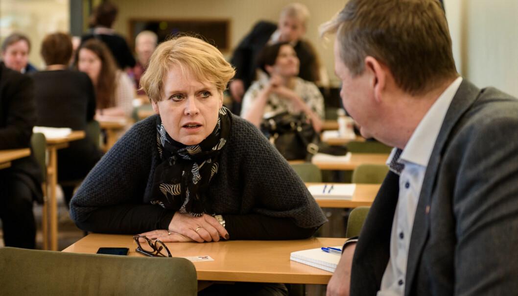 Marianne Aasen (Ap) Aasen mener hele  BRIKS-satsningen til regjeringen er underlig i segselv. Foto: John Trygve Tollefsen