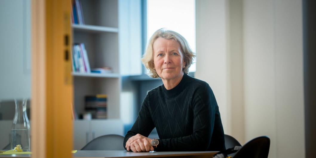 Gro Jamtvedt vil gjerne ha fire nye år som dekan ved Fakultet for helsevitenskap ved OsloMet. Foto: Skjalg Bøhmer Vold
