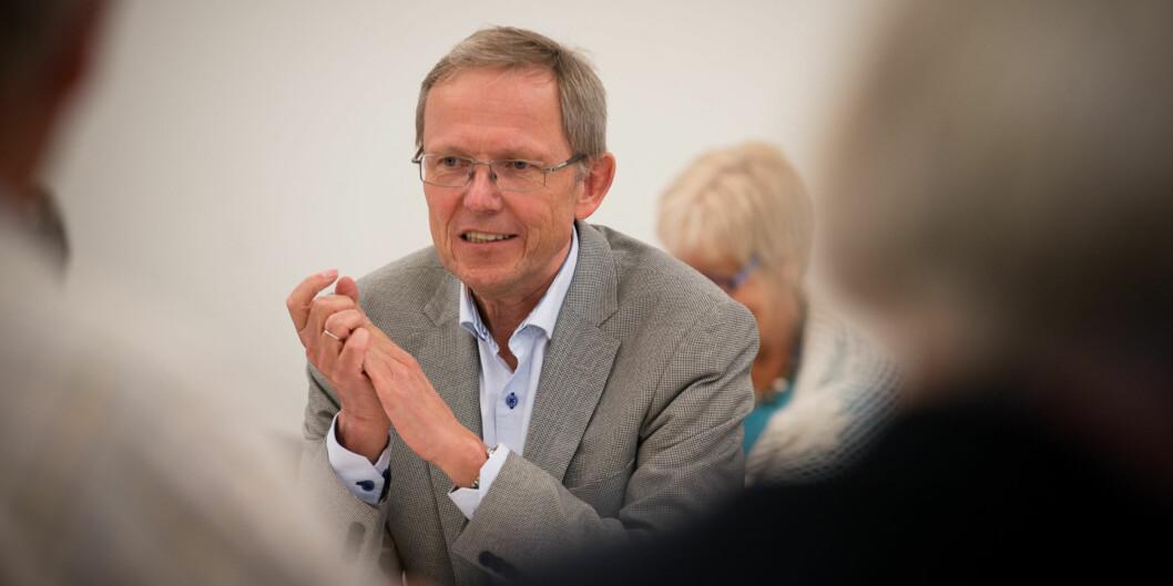 Internrevisor Tore Dæhlin ved Høgskolen i oslo og Akershus kan få flere kolleger rundt på universitetene og høgskolene, ettersom flere etablererinternrevisjon. Foto: Skjalg Bøhmer Vold