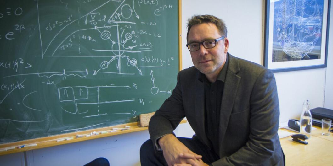 """Vi må revurdere vårt samarbeid med <span class=""""caps"""">NTNU</span>, som vi har hatt siden 90-tallet, sier professor ved Unviersitetet i Oslo, Eirik Grude Flekkøy. Foto: Aksel Kjær Vidnes,Forskerforum"""