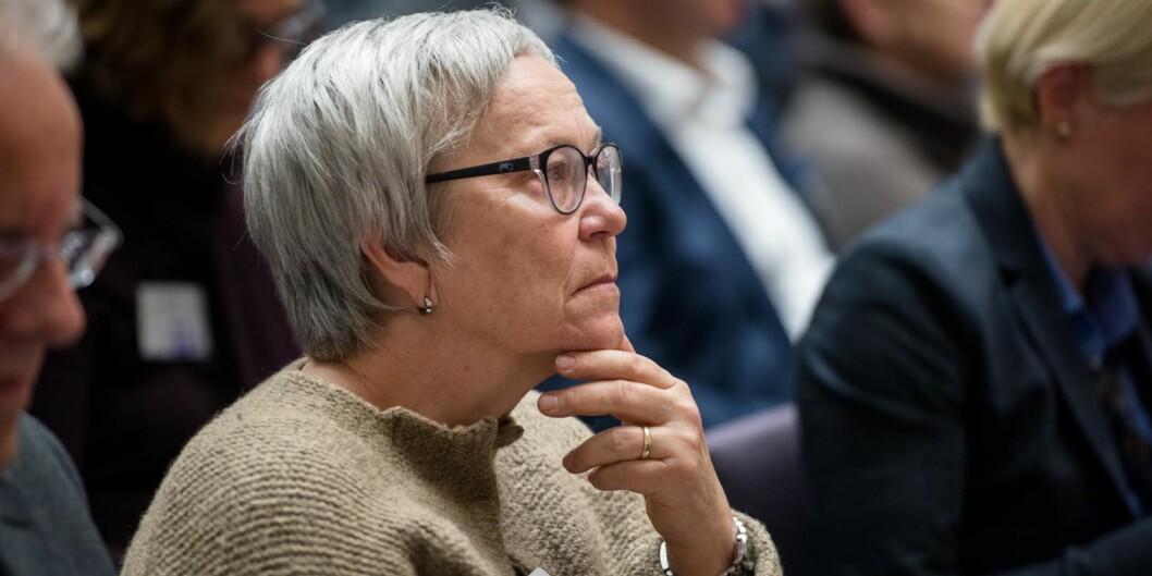 Rektor Kathrione Skretting ser få lyspunkter for Høgskolen i Innlandet i statsbudsjettet for 2019. Foto: Skjalg Bøhmer Vold