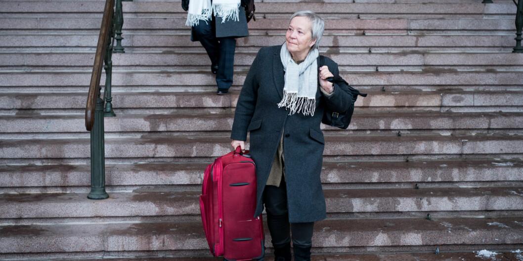 Styrene til rektorene Kathrine Skretting (bildet) og Anna Linnea Ottosen hadde felles lukket styreseminar denneuka. Foto: Skjalg Bøhmer Vold