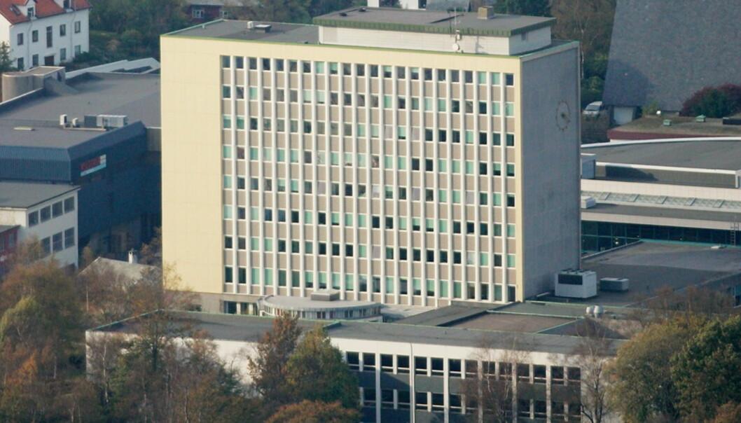 NHH ønskjer i utgangspunktet ikkje å bli større, og har allereie takka nei til fusjon med UiB. Men når Høgskolen i Molde spør, tek dei saka på alvor, riktignok berre dersom utdanningar som sjukepleie ikkje er ein del avpakken. Foto: Amundsen, Paul S.