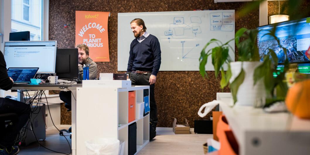 Åsmund Furuseth er medgründer i Kahoot. Foto: Skjalg Bøhmer Vold