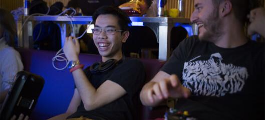 Her er gaming stuerent, og nerdene er kule