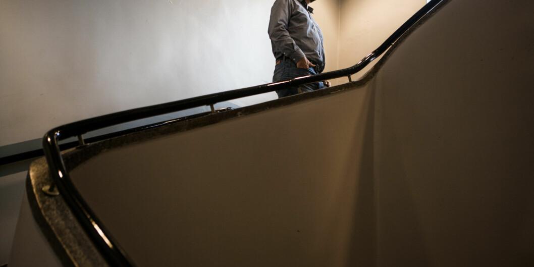 — For de neste 40 professorene burde høgskolen sentralt dekke merkostnadene ved å tilsette en professor i stedet for en førsteamanuensis, det vil si cirka 200.000 kroner per hode, foreslår instituttleder Kåre Magne Nielsen vedHiOA. Foto: Wanda Nathalie Nordstrøm