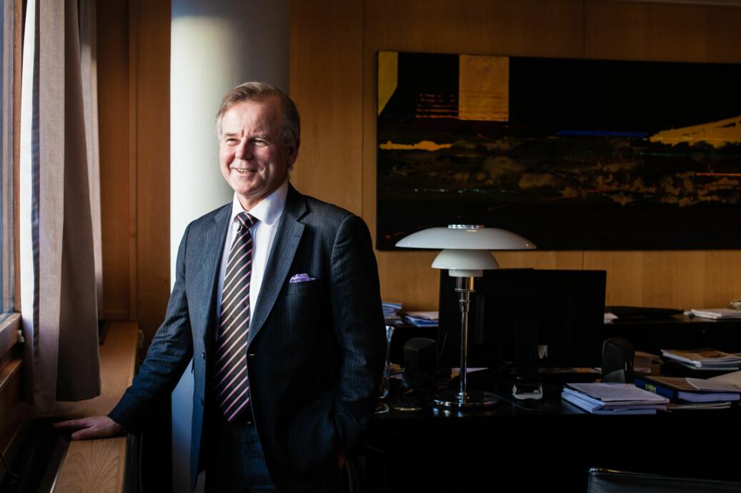 Ole Petter Ottersen, tidligere rektor ved Universitetet i Oslo synes det nesten er pinlig at det bare kommer nominasjoner fra UiO og UiB. Foto: Wanda Nathalie Nordstrøm