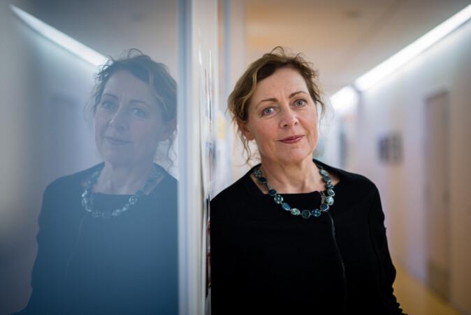 Instituttleder på Institutt for sykepleie ved OsloMet, Unni Hembre. Foto: Skjalg Bøhmer Vold