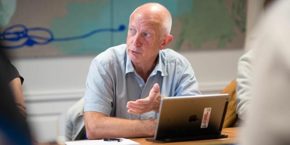Styremedlem og professor Anton Havnes var skeptisk til hele utviklingsavtalen til OsloMet, og også til punktet om at åpen fagfellevurdering skulle stå der. Foto: Skjalg Bøhmer Vold