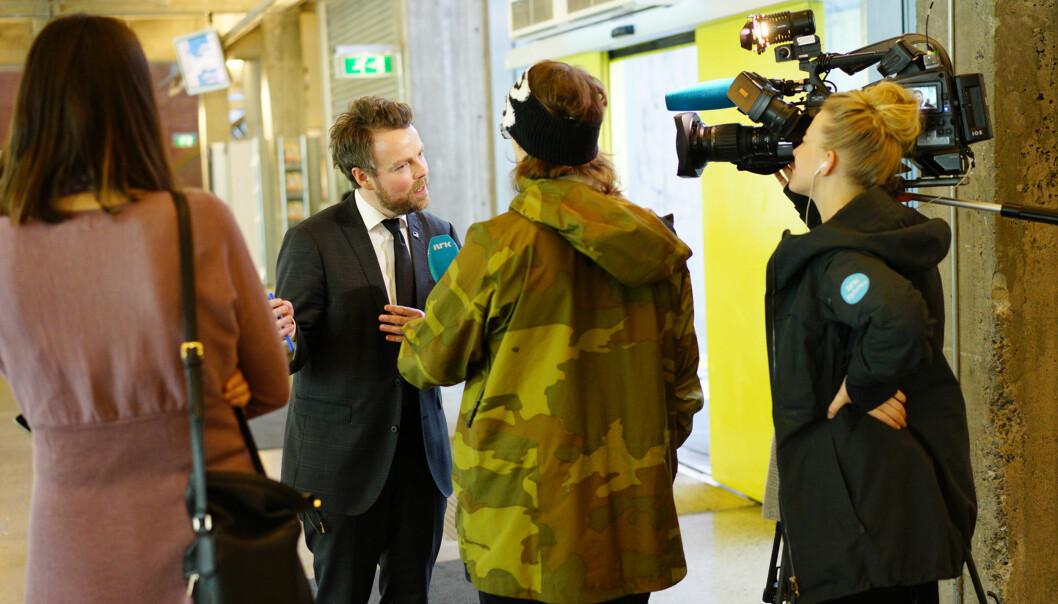1.februar fikk allinasehøgskolene i Molde, Volda og Lillehammer endelig nei fra statsråd Torbjørn RøeIsaksen.