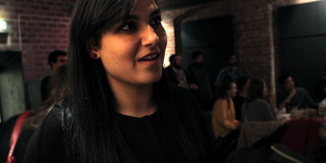 Hasina Shirzad hopes to get a master's degree in journalism. Foto: Maja Lindseth