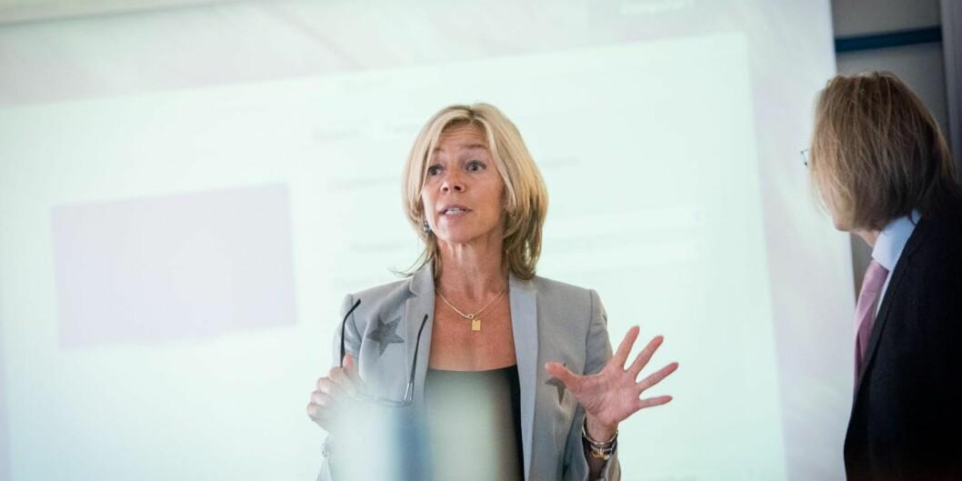 Prorektor Nina Waaler ved Høgskolen i Oslo og Akershus sier at antall masterprogrammer ved høgskolen realistisk sett skal ned i løpet av de nærmeste toårene.