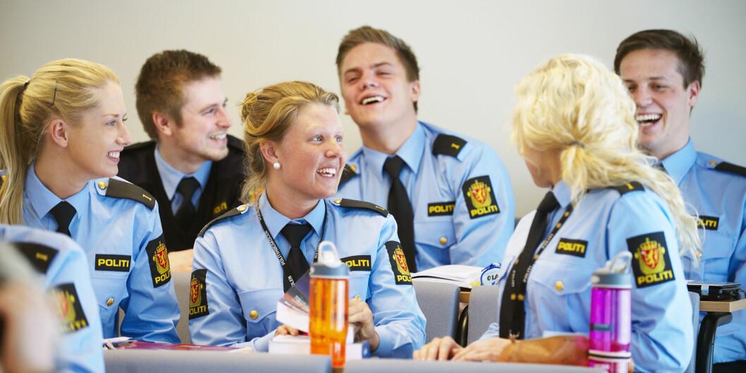 Politistudenter er landets mest fornøyde. Foto: Bjørn Erik Rygg Lunde,Politihøgskolen Foto: