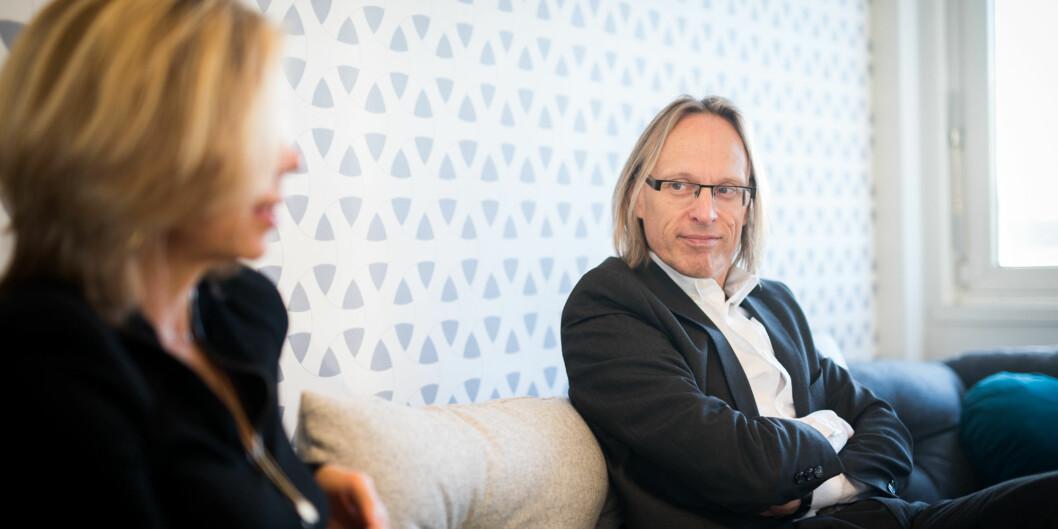 Morten Irgens er prorektor ved Høgskolen i Oslo og Akershus. Foto: Skjalg Bøhmer Vold