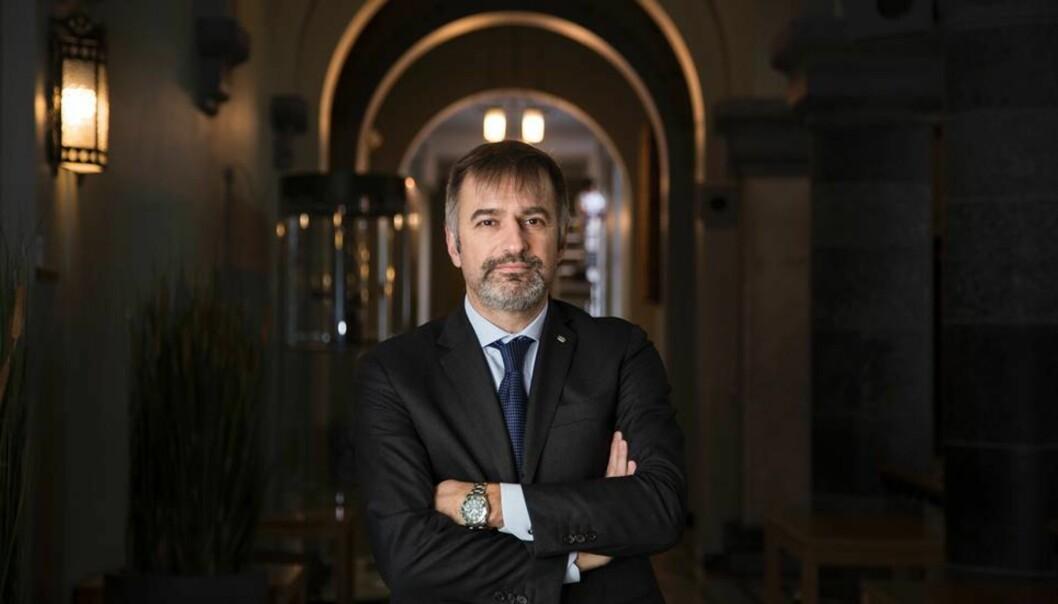 NTNUs deltakelse i Horisont 2020 skal passere én milliard kroner, det betyr en dobling fra forrige rammeprogram, sier en optimistisk Massimo Buoli, NTNUs nye mann iBrussel.
