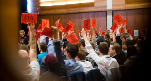 Kamp om hvem som skal lede student-Norge