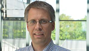 Økonomidirektør Kjetil Hellang ved Universitetet i Agder. Foto: UiA