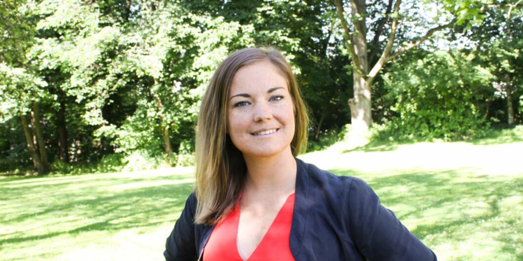 Leder av Studentparlamentet på Universitetet i Oslo, Julie S. Paus-Knudsen er fornøyd med årets valgresultat, og håper veksten vil fortsette. Foto:Studentparlamentet
