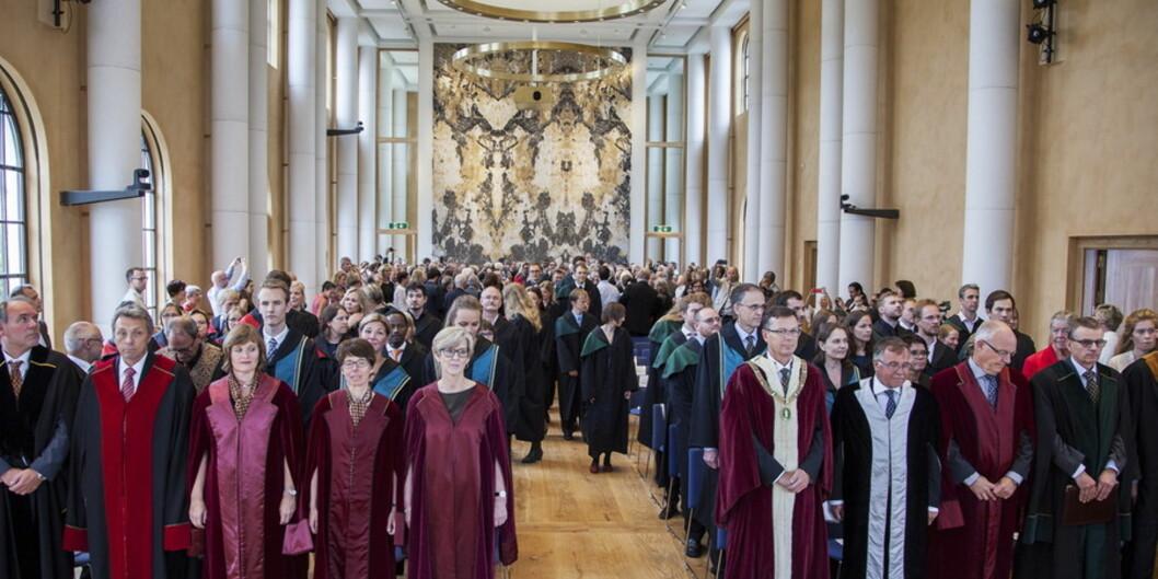På Universitet i Bergen er hver fjerde ansatte på midlertidigkontrakt. Foto: Ingvild Festervoll Melien