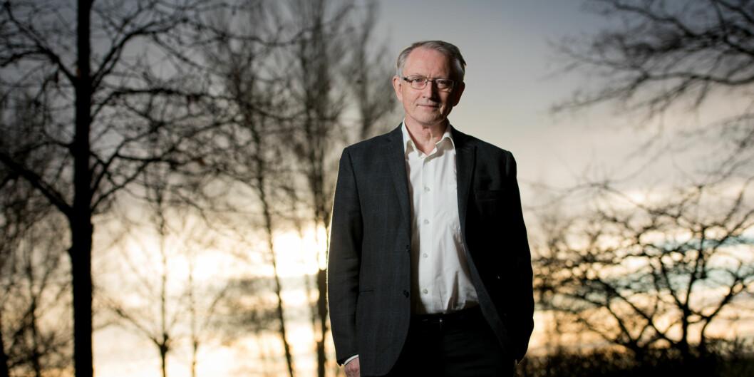 Tidligere adm.dir. i Forskningsrådet, Arvid Hallén, har ledet evalueringen av forskningsinstituttene ved OsloMet. Foto: Skjalg Bøhmer Vold