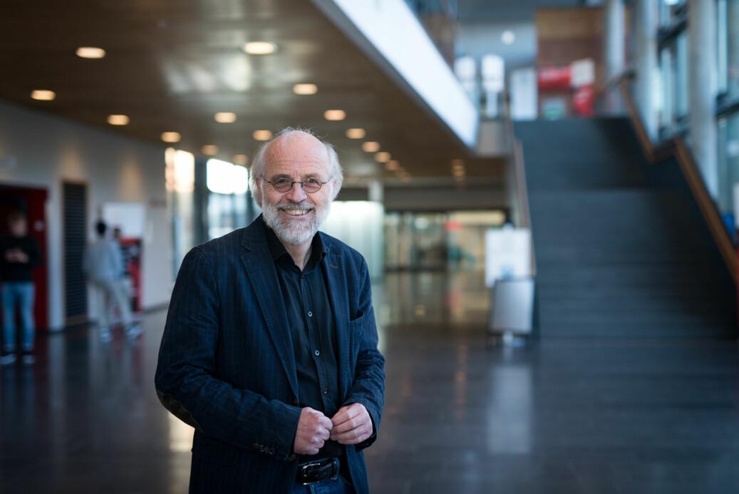 Rektor på Høgskolen i Sørøst-Norge, Petter Aasen, har kalt inn fagforeningene til møte om hvor de skal feire høgskolens kommende status som universitet. Foto: Skjalg Bøhmer Vold