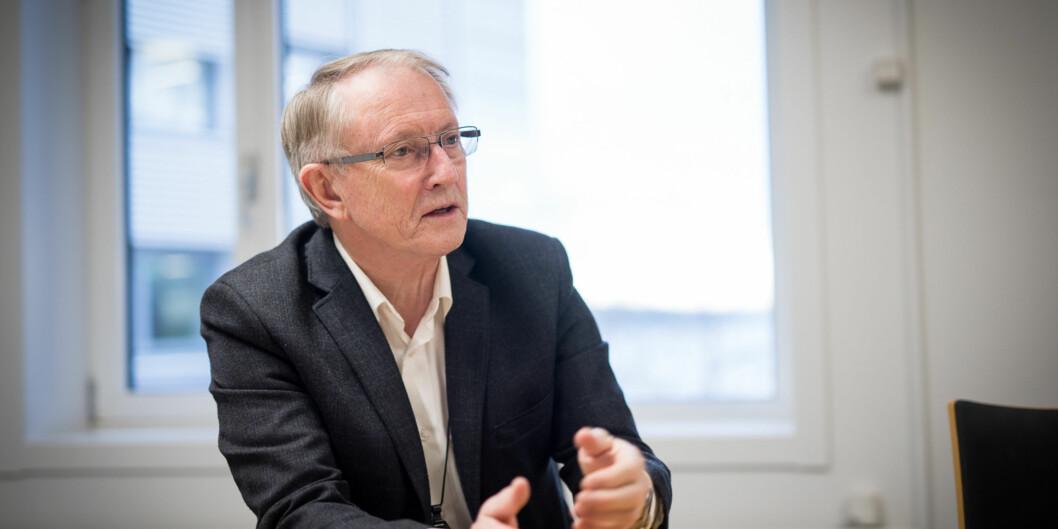 Arvid Hallén, styreleder ved HVL. Foto: Skjalg Bøhmer Vold