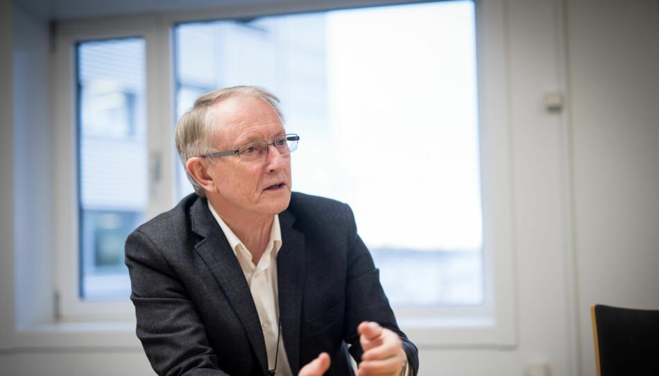 Arvid Hallén, styreleder ved Høgskulen på Vestlandet. Foto: Skjalg Bøhmer Vold