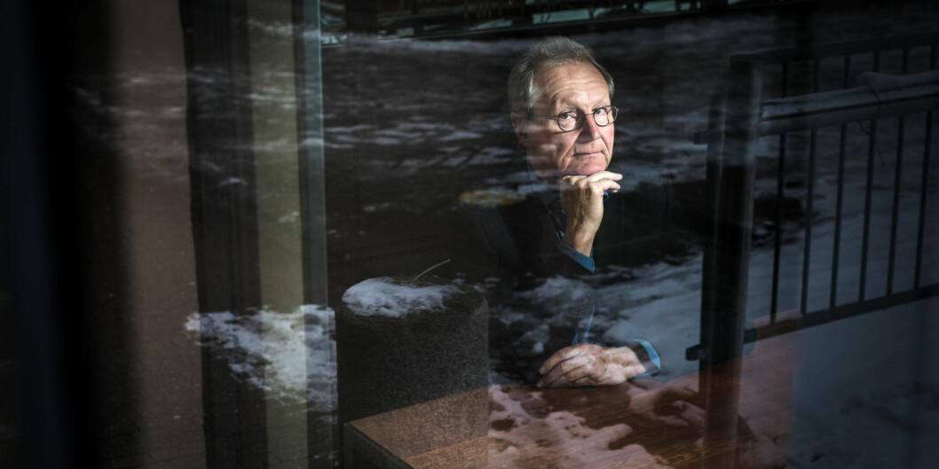 Steinar Stjernø ved Høgskolen i Oslo og Akershus møtte massiv kritikk da han som leder av Stjernøutvalget i 2008 foreslo å slå sammen en rekke høyere utdanningsinstitusjoner. Nå er detgjort. Foto: Skjalg Bøhmer Vold
