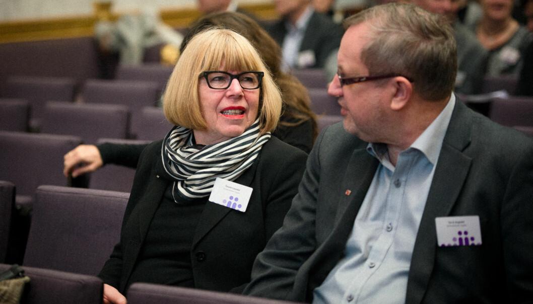 Torunn Lauvdal, tidligere rektor ved Universitetet i Agder, er en av redaktørene for en antologi om geografien i uh-sektoren etter strukturreformen. Foto: Skjalg Bøhmer Vold
