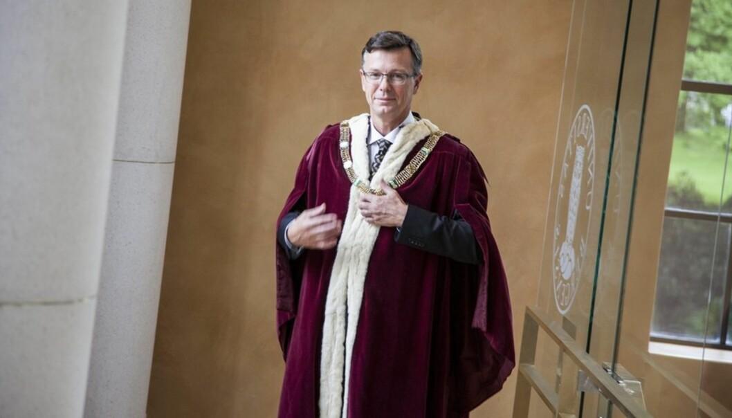 Dag Rune Olsen får fire nye år som rektor på Universitetet i Bergen. Foto: TorFarstad Foto: Ingvild Festervoll Melien