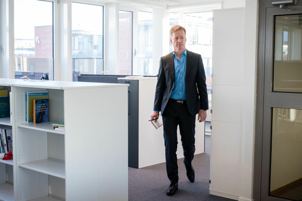 Rektor Curt Rice ved OsloMet ber statsråd Iselin Nybø godkjenne at universitetet kan tilby kompletterende utdanning til innvandrere uten flyktningbakgrunn.
