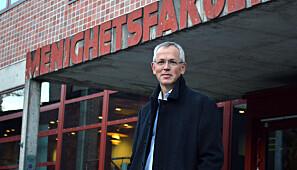 Vidar Haanes, rektor ved MF Vitenskapelige Høyskole.
