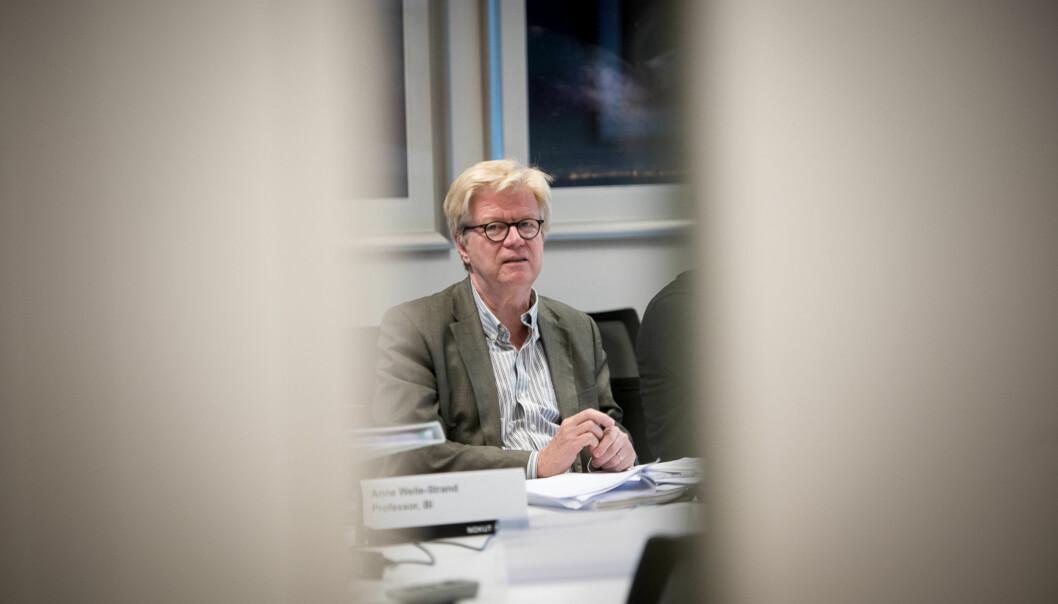 Komitéleder Roger Säljö, som er professor ved Gøteborgs Universitet, ga positive signaler om HiOAs kvalitetsarbeid da komiteen var på besøk tre dager i september i år. Tirsdag kom komiteens anbefaling om å godkjennekvalitetssikringssystemet.