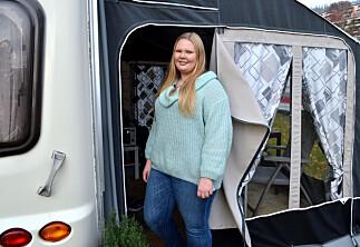 Campingvogna er studenthybelen