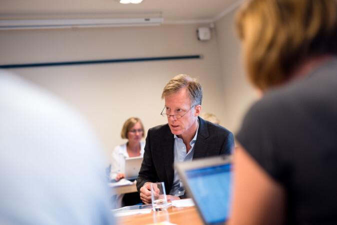 Rektor Curt Rice , OsloMet. Foto: Skjalg Bøhmer Vold